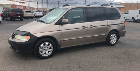 2004 Honda Odyssey for sale at Robert B Gibson Auto Sales INC in Albuquerque NM