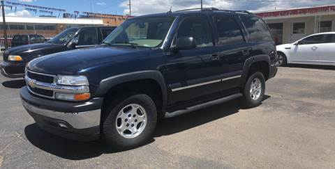 2005 Chevrolet Tahoe for sale at Robert B Gibson Auto Sales INC in Albuquerque NM
