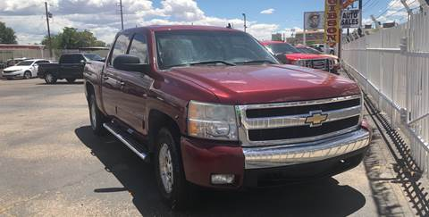 2008 Chevrolet Silverado 1500 for sale at Robert B Gibson Auto Sales INC in Albuquerque NM