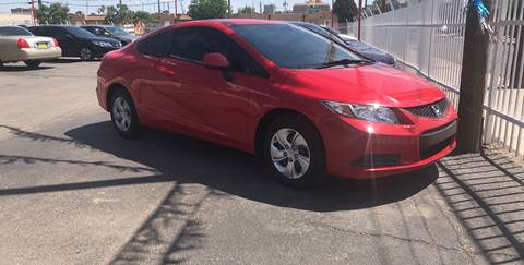 2013 Honda Civic for sale at Robert B Gibson Auto Sales INC in Albuquerque NM