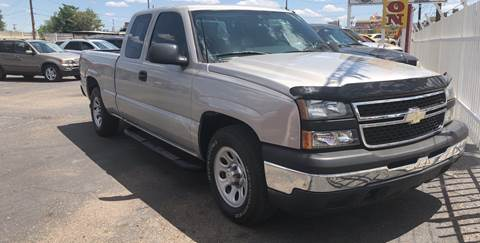 2006 Chevrolet Silverado 1500 for sale at Robert B Gibson Auto Sales INC in Albuquerque NM