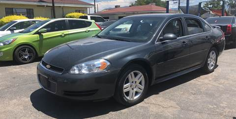 2012 Chevrolet Impala for sale at Robert B Gibson Auto Sales INC in Albuquerque NM
