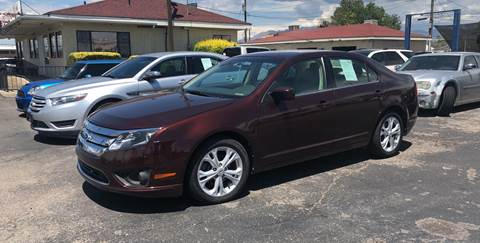 2012 Ford Fusion for sale at Robert B Gibson Auto Sales INC in Albuquerque NM