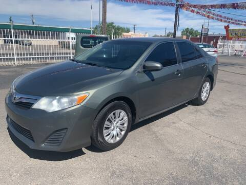 2012 Toyota Camry for sale at Robert B Gibson Auto Sales INC in Albuquerque NM