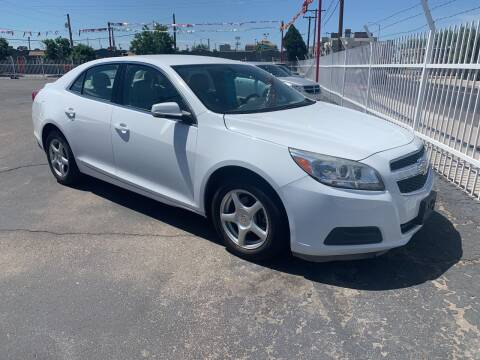 2013 Chevrolet Malibu for sale at Robert B Gibson Auto Sales INC in Albuquerque NM