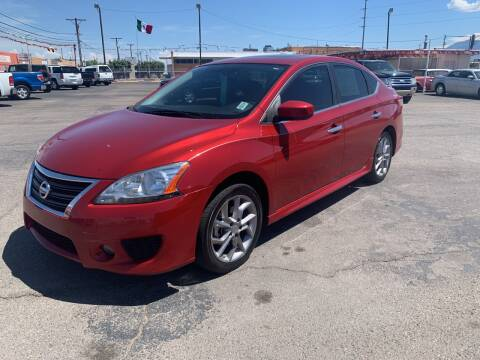 2014 Nissan Sentra for sale at Robert B Gibson Auto Sales INC in Albuquerque NM