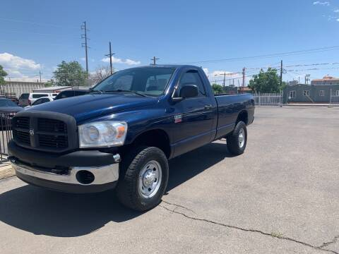 2007 Dodge Ram Pickup 2500 for sale at Robert B Gibson Auto Sales INC in Albuquerque NM