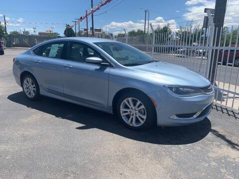 2015 Chrysler 200 for sale at Robert B Gibson Auto Sales INC in Albuquerque NM