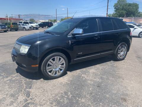 2008 Lincoln MKX for sale at Robert B Gibson Auto Sales INC in Albuquerque NM