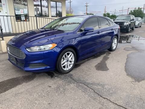 2016 Ford Fusion for sale at Robert B Gibson Auto Sales INC in Albuquerque NM