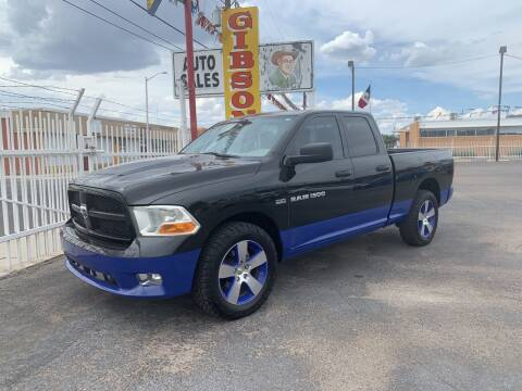 2012 RAM Ram Pickup 1500 for sale at Robert B Gibson Auto Sales INC in Albuquerque NM