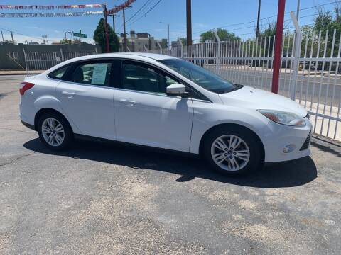 2012 Ford Focus for sale at Robert B Gibson Auto Sales INC in Albuquerque NM