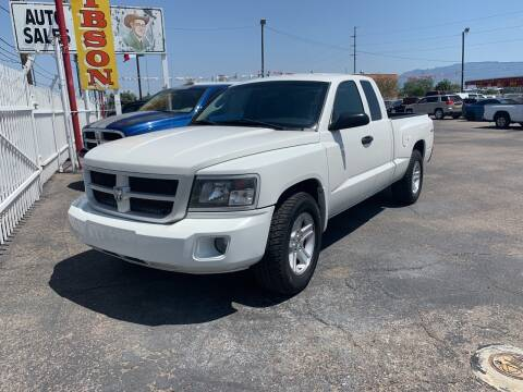 2009 Dodge Dakota for sale at Robert B Gibson Auto Sales INC in Albuquerque NM