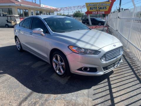 2013 Ford Fusion for sale at Robert B Gibson Auto Sales INC in Albuquerque NM