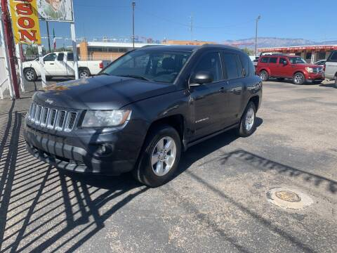 2014 Jeep Compass for sale at Robert B Gibson Auto Sales INC in Albuquerque NM