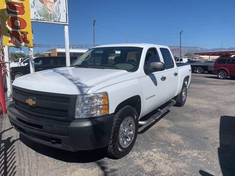 2012 Chevrolet Silverado 1500 for sale at Robert B Gibson Auto Sales INC in Albuquerque NM