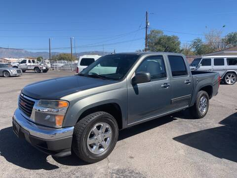 2010 GMC Canyon for sale at Robert B Gibson Auto Sales INC in Albuquerque NM
