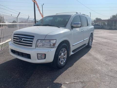 2005 Infiniti QX56 for sale at Robert B Gibson Auto Sales INC in Albuquerque NM