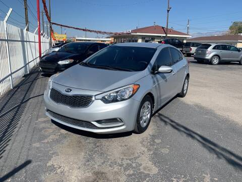 2016 Kia Forte for sale at Robert B Gibson Auto Sales INC in Albuquerque NM