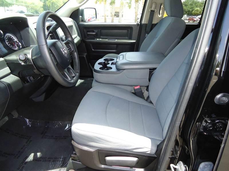 2013 RAM Ram Pickup 1500 4x4 Tradesman 4dr Quad Cab 6.3 ft. SB Pickup - Englewood FL