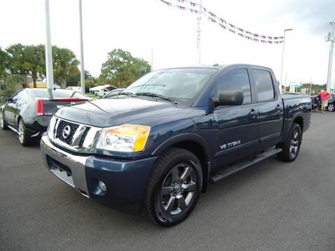 2015 Nissan Titan for sale in Englewood, FL