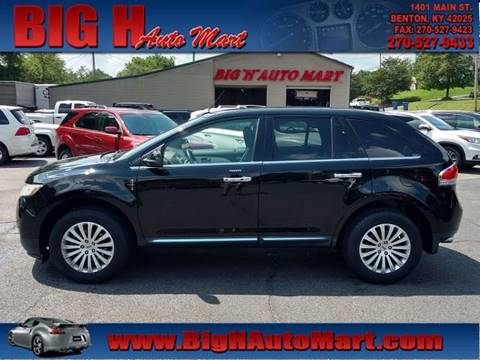 2011 Lincoln MKX for sale in Benton, KY