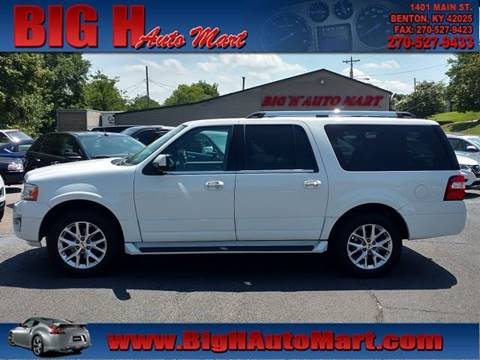 2017 Ford Expedition EL for sale in Benton, KY