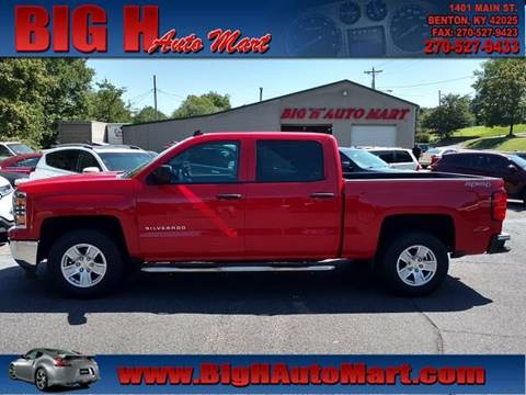 2014 Chevrolet Silverado 1500 for sale in Benton, KY