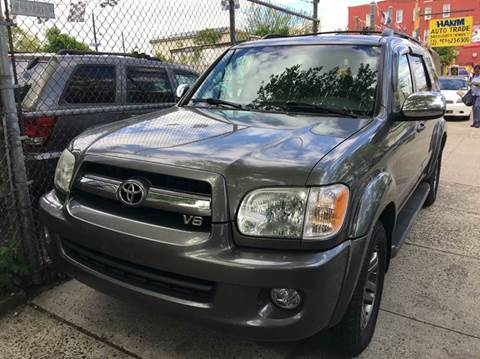 2007 Toyota Sequoia for sale at 77 Auto Mall in Newark NJ