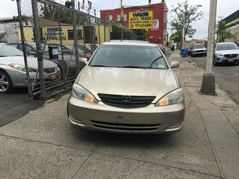 2002 Toyota Camry for sale at 77 Auto Mall in Newark NJ