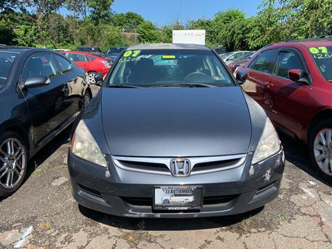 2007 Honda Accord for sale at 77 Auto Mall in Newark NJ