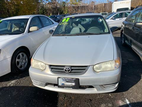 2002 Toyota Corolla for sale at 77 Auto Mall in Newark NJ