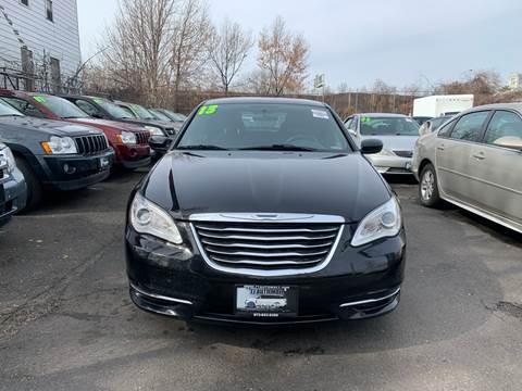 2013 Chrysler 200 for sale at 77 Auto Mall in Newark NJ