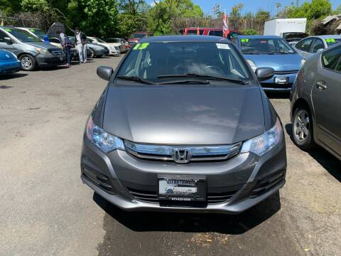 2013 Honda Insight for sale at 77 Auto Mall in Newark NJ