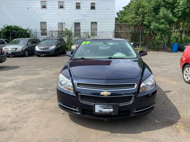 2009 Chevrolet Malibu Hybrid for sale at 77 Auto Mall in Newark NJ
