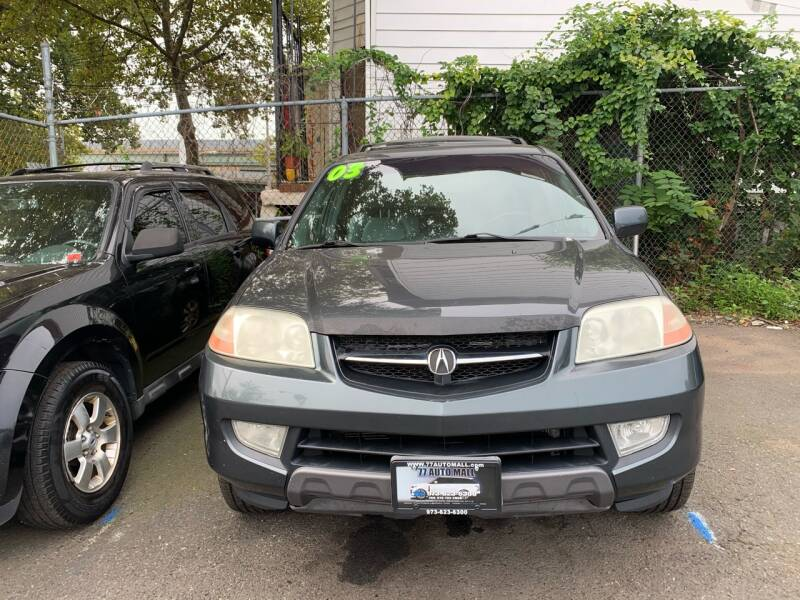 2003 Acura MDX for sale at 77 Auto Mall in Newark NJ