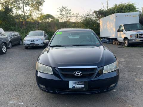 2006 Hyundai Sonata for sale at 77 Auto Mall in Newark NJ