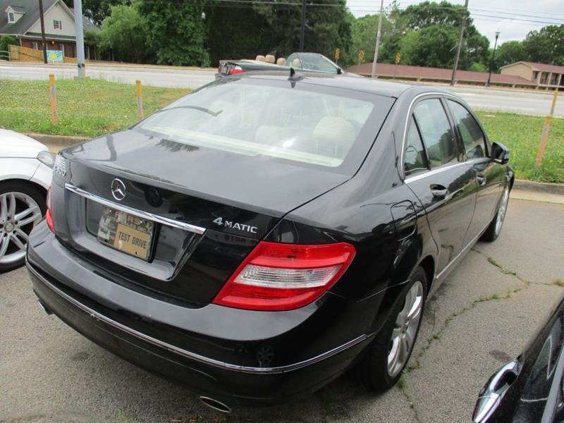 2011 Mercedes-Benz C-Class C300 4MATIC In Stone Mountain GA