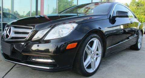 2013 Mercedes-Benz E-Class for sale at Pars Auto Sales Inc in Stone Mountain GA