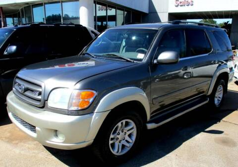 2004 Toyota Sequoia for sale at Pars Auto Sales Inc in Stone Mountain GA
