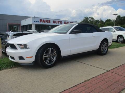 2012 Ford Mustang for sale at Pars Auto Sales Inc in Stone Mountain GA