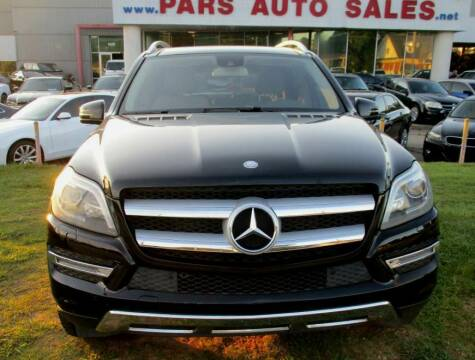 2013 Mercedes-Benz GL-Class for sale at Pars Auto Sales Inc in Stone Mountain GA