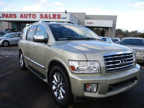 2008 Infiniti QX56 for sale at Pars Auto Sales Inc in Stone Mountain GA