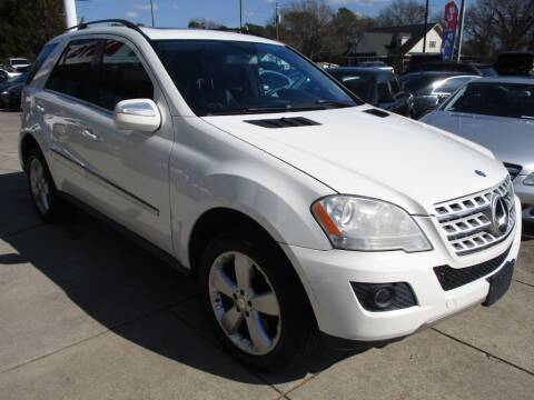 2010 Mercedes-Benz M-Class for sale at Pars Auto Sales Inc in Stone Mountain GA