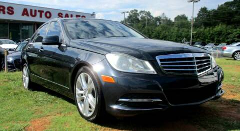 2013 Mercedes-Benz C-Class for sale at Pars Auto Sales Inc in Stone Mountain GA