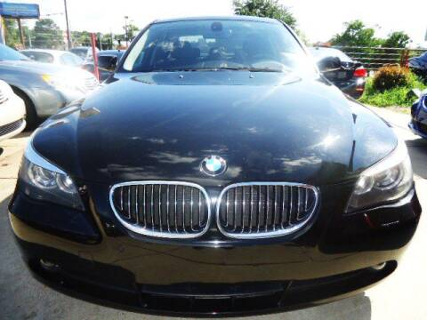2006 BMW 5 Series for sale at Pars Auto Sales Inc in Stone Mountain GA