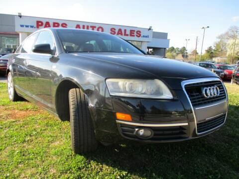 2007 Audi A6 for sale at Pars Auto Sales Inc in Stone Mountain GA