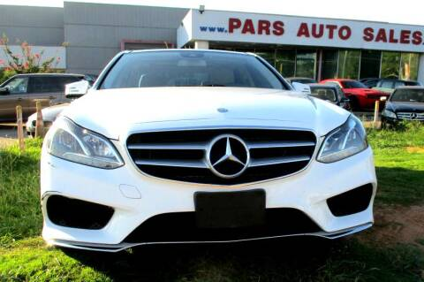 2016 Mercedes-Benz E-Class for sale at Pars Auto Sales Inc in Stone Mountain GA