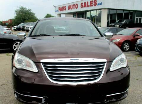 2012 Chrysler 200 for sale at Pars Auto Sales Inc in Stone Mountain GA