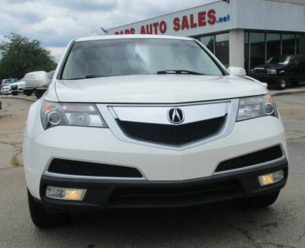 2010 Acura MDX for sale at Pars Auto Sales Inc in Stone Mountain GA